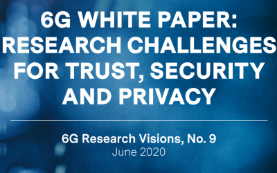 "Security Expert Group Of The Finnish 6G Flagship Release ""Trust, Security And Privacy"" Whitepaper"
